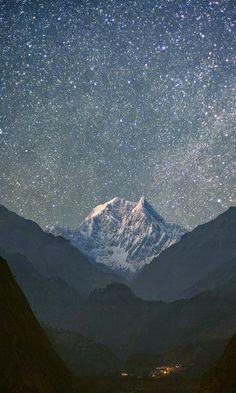 en danza: un cielo estrellado
