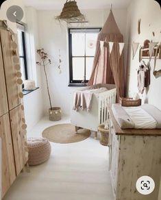 Baby Bedroom, Baby Room Decor, Nursery Room, Girls Bedroom, Baby Rooms, Babies Nursery, Girl Nursery, Newborn Room, Baby Room Neutral