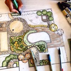 #landscapearchitecture #landscapedesign #architecture #rendering #illustration…