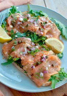 wrap met tonijnsalade