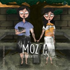 mozza return  . . #digitalpainting #mozza #unidentifydriend #character #cartoon #illustration