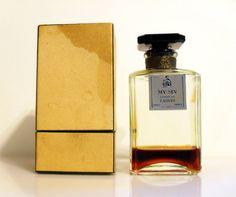 Vintage 1930s My Sin by Lanvin 1.90 oz Parfum Extrait Perfume Bottle & Presentation Box