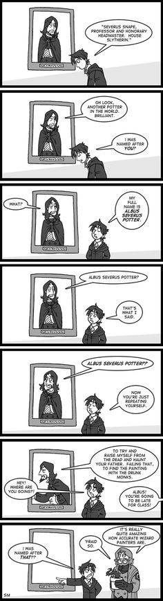 Snape really wouldn't have been appreciative of having a Potter named after him…