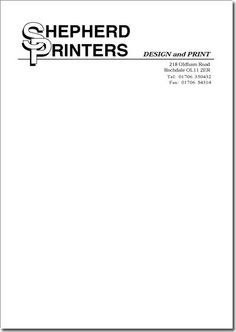 Get Your A4 Letterhead Printed At Cheapest Price Today With Best Quality Free Home Delivery And