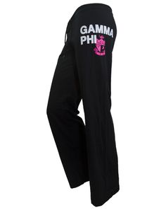 e790218401 Gamma Phi Beta Crest Sweatpants. Sorority GiftsSorority OutfitsGamma Phi  BetaBlock DesignYoga PantsSweatpantsRompersPants