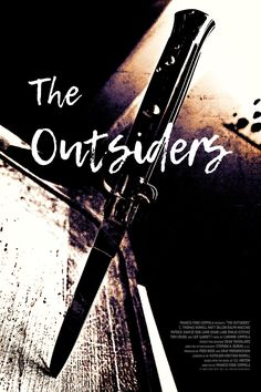 The Outsiders movie poster original The Outsiders Preferences, The Outsiders Imagines, The Outsiders 1983, The Outsiders Sodapop, Original Movie Posters, Movie Poster Art, Ralph Macchio The Outsiders, Francis Ford Coppola, Organization Skills