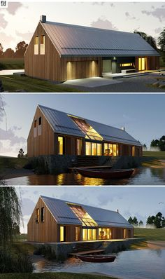 House design Tundra - Tundra house plan - The barn house a relic of U. Education Architecture, Residential Architecture, Architecture Design, Cultural Architecture, Landscape Architecture, Modern Barn House, Casas Containers, Long House, Roof Design