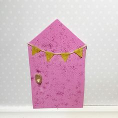 A personal favourite from my Etsy shop https://www.etsy.com/au/listing/276062990/pink-fairy-door-indoor-fairy-door-pixie
