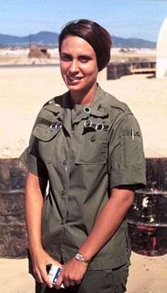 Army nurse in Vietnam. Lady, I totally love you and will take a bullet for you. You kept me alive ! Army nurse in Vietnam. Lady, I totally love you and will take a bullet for you. You kept me alive ! Vietnam War Photos, North Vietnam, Vietnam Veterans, Vietnam History, Military Women, Military History, Military Jacket, Vintage Nurse, Ancient History