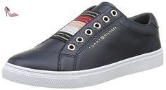 Tommy Hilfiger V1285enus 8a1, Sneaker Basses Femme, Bleu (Midnight 403), 39 EU - Chaussures tommy hilfiger (*Partner-Link)