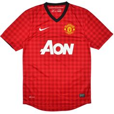 c3566566f 2012-13 Manchester United Home Shirt (Very Good) L for just £34.99