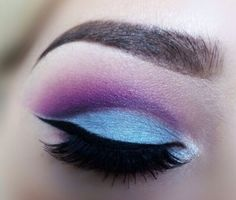 Look created by with sugarpill cosmetics. Makeup Goals, Makeup Tips, Beauty Makeup, Hair Makeup, Makeup Ideas, Makeup Style, Unique Makeup, Creative Makeup, Amazing Makeup