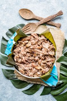 Hawaiian Style Slow Cooker Kalua Pork - Pineapple and Coconut Best Crockpot Recipes, Pork Recipes, Slow Cooker Recipes, Yummy Recipes, Crockpot Meals, Amazing Recipes, Freezer Meals, Best Slow Cooker, Slow Cooker Pork