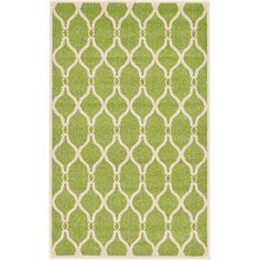 Unique Loom Trellis Green Area Rug & Reviews | Wayfair