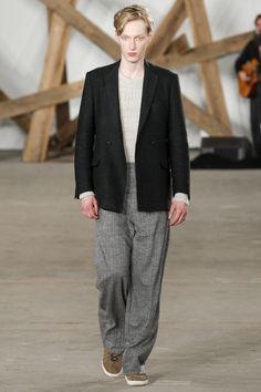 Billy Reid Fall 2016 Menswear Fashion Show