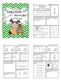 Math for Second Grade-Third Trimester Second Grade Math, Third Grade, Grade 2, Fun Classroom Activities, Math Classroom, Daily 5 Math, Math Quotes, Teaching Math, Maths