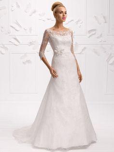 Brautkleider im gehobenen Preissegment | miss solution Bildergalerie - Modell E-3311T by ELIZABETH PASSION