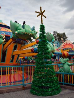 We started out day with some photos of the Animal Kingdom Christmas tree. Description from kennythepirate.com. I searched for this on bing.com/images