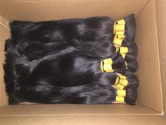 Single Drawn Remy Hair Extension Straight Very High Quality | Unihair Vietnam