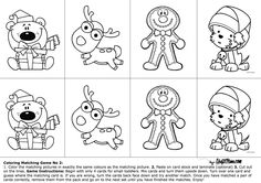 Download HERE!   This is the second FREE Printable Coloring Matching Game. Find the first one HERE! Enjoy! Share this:Click to share on Twitter (Opens in new window)Share on Facebook (O…