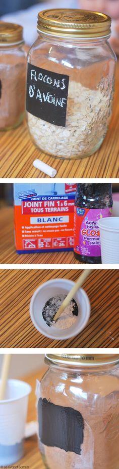 Preparation de la peinture a base de farine, huile de lin et