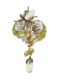 Brooch by Guillemain Frères, 1900.