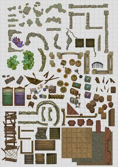 Make Your Own Map, Pens Game, Fantasy Map Making, Call Of Cthulhu Rpg, Pen & Paper, Dungeons And Dragons Miniatures, Rpg Map, Game Textures, Nerd Crafts