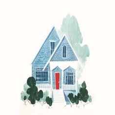 Portland houses are pretty :)