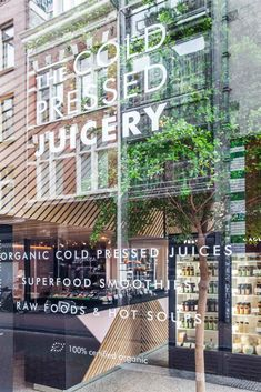 Standard Studio - Interior design and integration visual identity in the second store of The Cold Pressed Juicery.