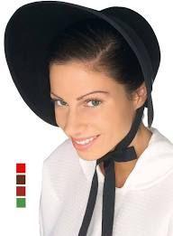 victorian bonnets - Google Search Costume Hats, Costumes, Dress Up, Fancy Dress, Caroler, Black Felt, Bonnet Hat, Black Costume, Pilgrim