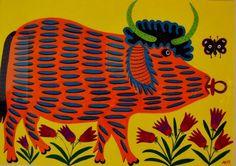 У Києві запрошують доторкнутися до художнього світу Марії Примаченко. ФОТО