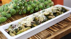 Appetizer Ideas: Niagara Gold Cheese with Brussel Sprouts and Bacon
