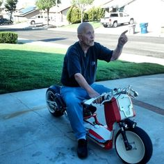 My dad being super cool dude.