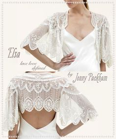 my bolero post for Everthine Bridal