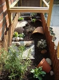 This would fit nicely in the side of the garden and be easy to make
