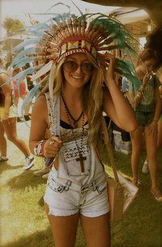 """Every girl at Coachella looks like Pocahontas."""