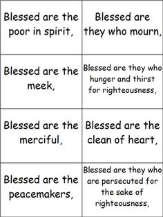 Beatitudes, page 1