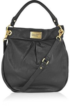 Marc By Jacobs The Hillier Hobo Leather Shoulder Bag