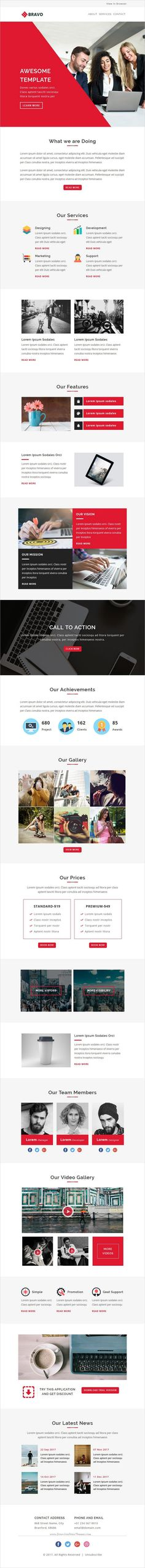 ENewsletter  Multipurpose Email Template  Campaign Monitor