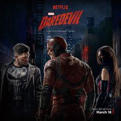 El nuevo cartel de la segunda temporada de la serie de Marvel para Netflix nos enseña por fin el traje característico de Frank Castle (Jon Bernthal), con su calavera y todo.