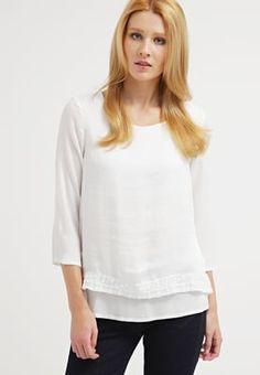 Blusen für deinen romantischen Look. Object OBJKATELYN - Bluse - gardenia für 23,95 € (22.07.16) versandkostenfrei bei Zalando bestellen.