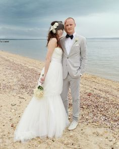 "See the ""Portraits on the Beach"" in our A Whimsical Beach Destination Wedding in New York gallery"