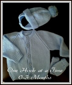 One Hook at a Time - Baby Cardigans & Jumpers
