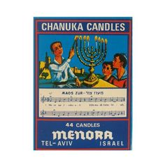 Hanukkah Multi Colored Candles / 44 Per Box Made in Israel * More info could be found at the image url.