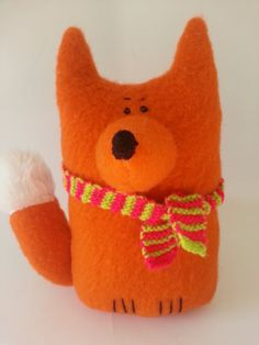 Mr Fox soft toy by madebyswimmer on Etsy, £18.00
