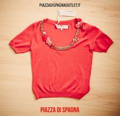 #maglia #ElisabettaFranchi #albicocca #rosa #chic