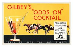 Gilbey's Gin leaflet