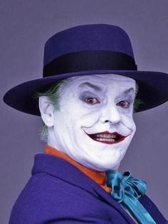Batman, 1989 - Jack Nicholson