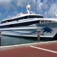 Any easy Day Trip from Fort Myers, Naples or Sarasota! One of the three Key West Express ferries operating daily in season back and forth from two locations in Ft Myers and one on Marco Island to Key West.