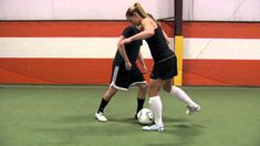 Christie Rampone Soccer Tip #10 - Block Tackle